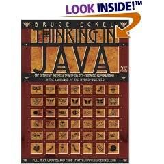 Bibliografía: Thinking in Java (3ª edición) ISBN: 0131002872 Autores: Bruce Eckel Editorial: PRENTICE-HALL Java In A Nutshell, 5th Edition ISBN: 0596007736 Autores: David Flanagan Editorial: O'Reilly