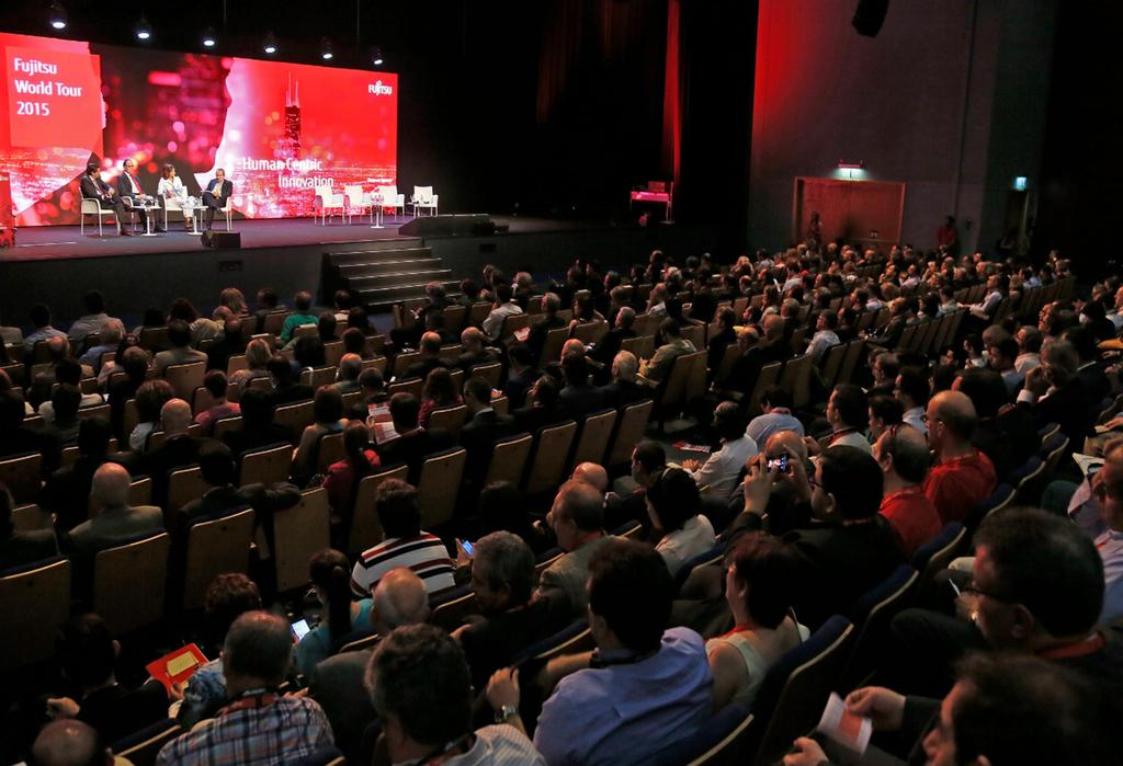 Fujitsu World Tour + Fujitsu Innovation Gathering Madrid, 9 de junio de 2015: Human Centric