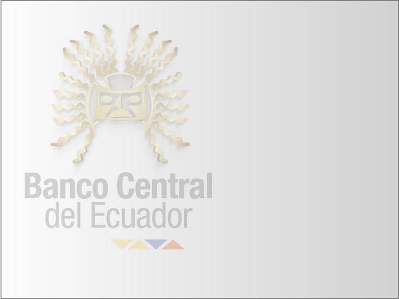 BANCO CENTRAL DEL ECUADOR 2013.