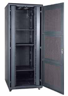Racks & Server Racks Smart Rack Plus con Puerta Ventilada 27 u Smart Rack Plus [Color Negro RAL 9005] Ref. U/Emb.