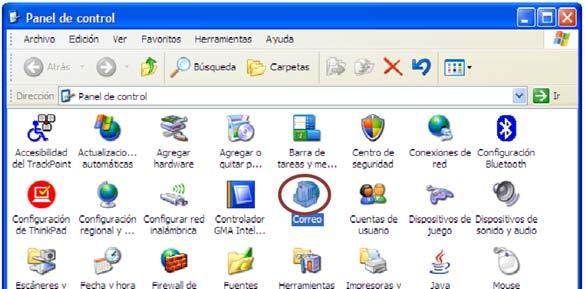 Configuración manual de correo Microsoft Exchange 2007 A