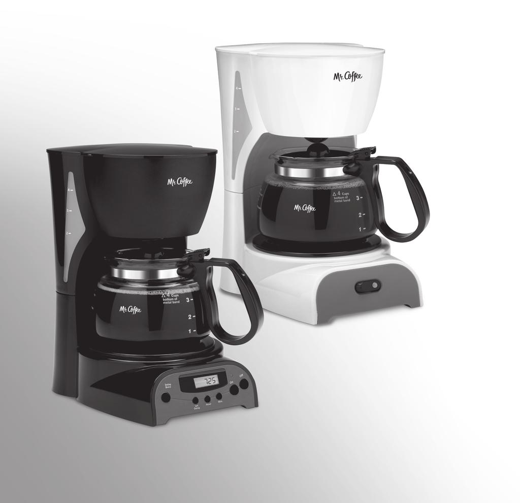 User Manual / Manual del Usuario 4-Cup Coffeemaker / Cafetera para 4 Tazas DR Series / Serie DR 2016 Sunbeam Products, Inc. doing business as Jarden Consumer Solutions. All rights reserved.