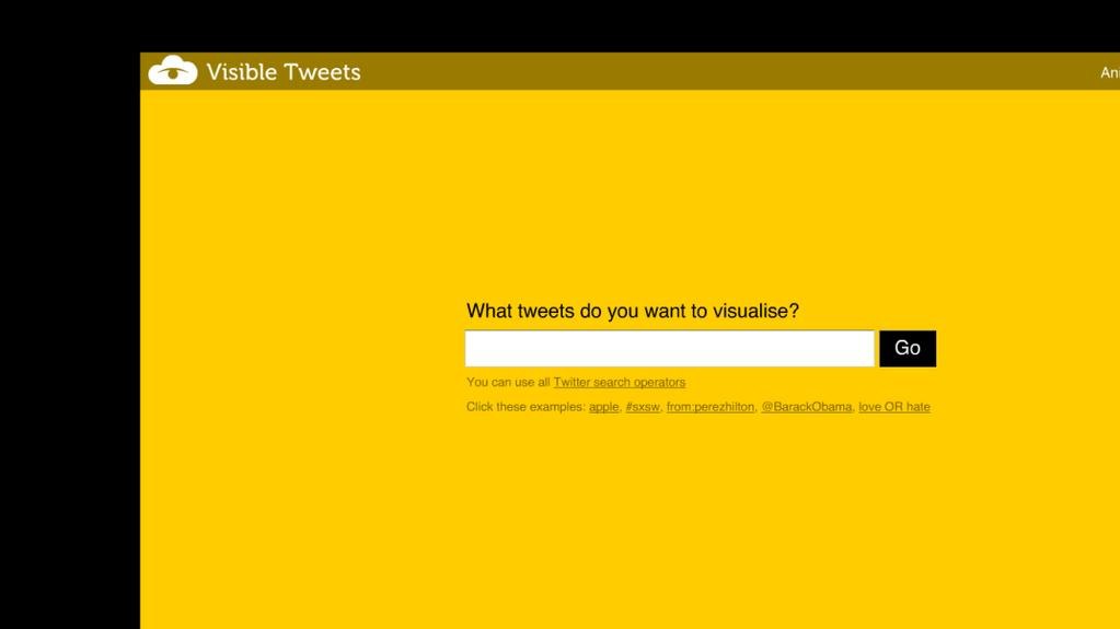 15 de 16 Visible Tweets http://visibletweets.