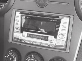 INSTALLATION INSTRUCTIONS FOR PART 95-7329 APPLICATIONS Kia Rondo 2007-2010 95-7329 KIT FEATURES Double DIN radio provision Stacked ISO mount unit provision KIT COMPONENTS A) Double DIN trim plate B)