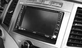 INSTALLATION INSTRUCTIONS FOR PART 95-8225G KIT FEATURES Double DIN radio provision Painted to match factory dash, G = Gray Toyota Venza 2009-up 95-8225G Table of Contents Dash Disassembly.
