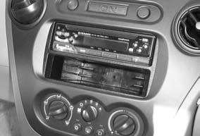 INSTALLATION INSTRUCTIONS FOR PART 99-3108 APPLICATIONS Saturn Ion 2003-2005, L Series 2000-2005, S Series 2000-2002, Vue 2002-2005 99-3108 KIT FEATURES ISO DIN radio provision with pocket Double DIN