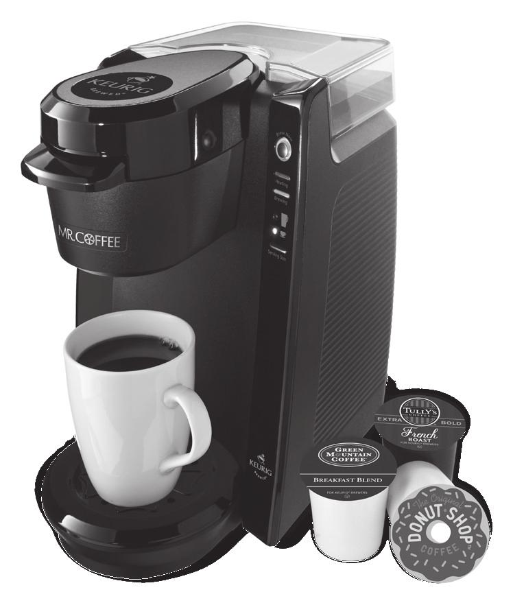 User Manual / Manual del Usuario Single Serve Brewer / Cafetera individual BVMC-KG5 2011 Sunbeam Products, Inc. doing business as Jarden Consumer Solutions. All rights reserved.