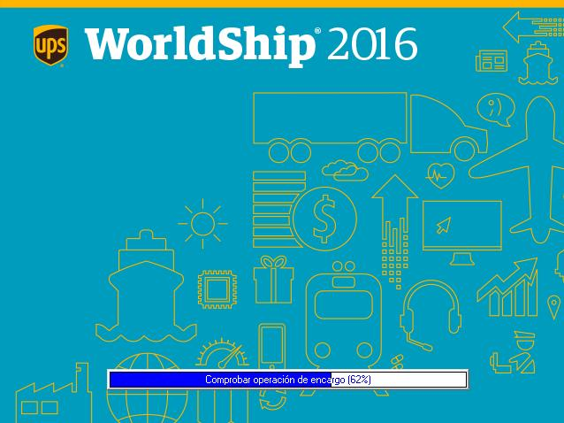 14. Se iniciará WorldShip.