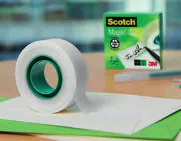 CINTA INVISIBLE Cintas Adhesivas Scotch La calidad Scotch marca la