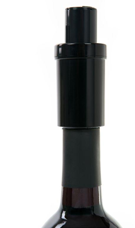2 IN 1VACUUM PUMP & WINE STOPPER