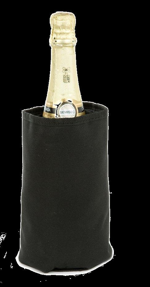 The most complete set for sparkling wines.