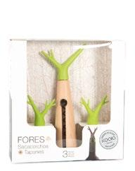 /1 Forest corkscrew and 2 Forest wine stopper