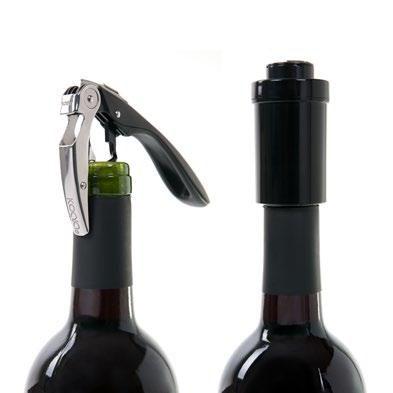 SET WINE LOVERS SET BARREL AIR Sacacorchos High tech + Aireador de botella High
