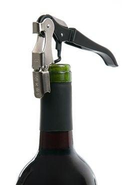 Barrel Air. 1 Wine aerator, stainless steel filter, silicone based and 1 wine stopper.