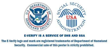 If E-Verify cannot confirm that you are authorized to work, this employer is required to give you written instructions and an opportunity to contact Department of Homeland Security (DHS) or Social