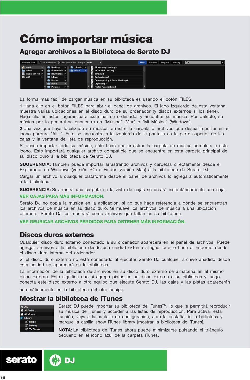 SERATO DJ MANUAL DE USUARIO - PDF