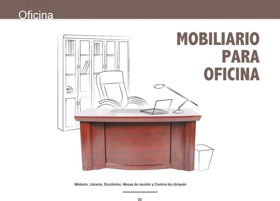Cat logo de especificaciones t cnicas 2015 muebles para for Muebles de oficina por catalogo