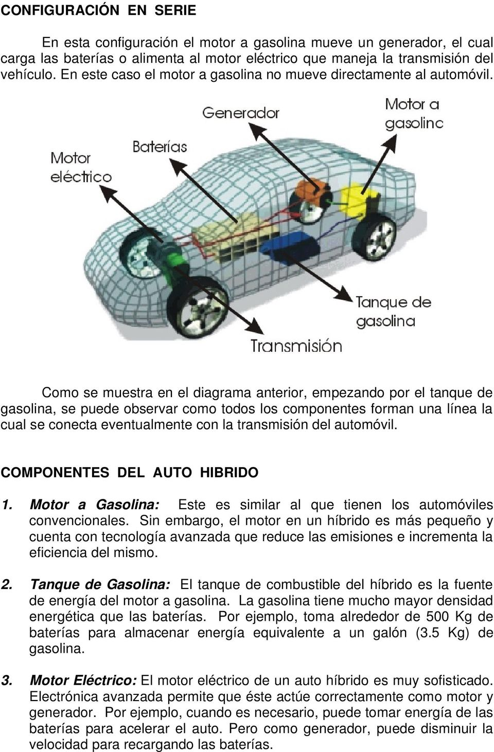 Transmision vehiculo electrico
