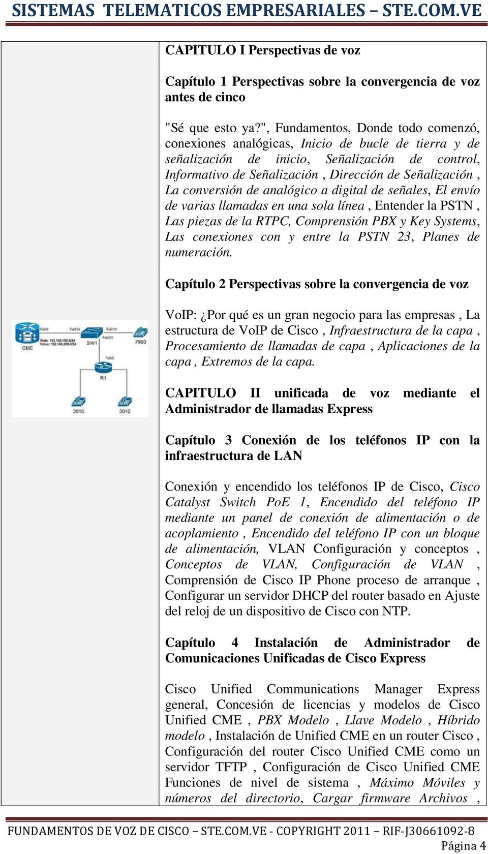 FUNDAMENTOS DE TELEFONIA IP DE CISCO - PDF