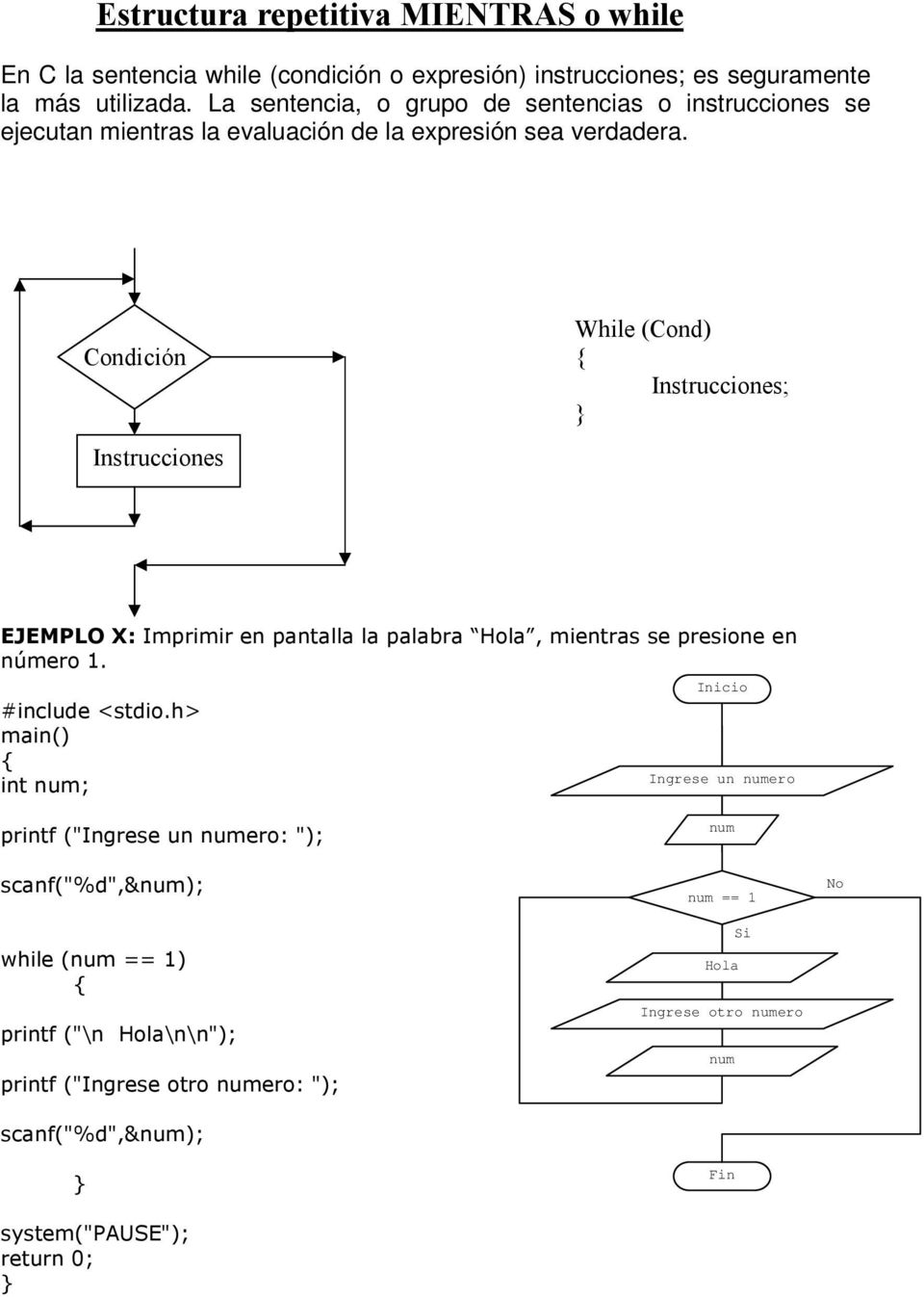 Informática I While Do While Pdf Free Download