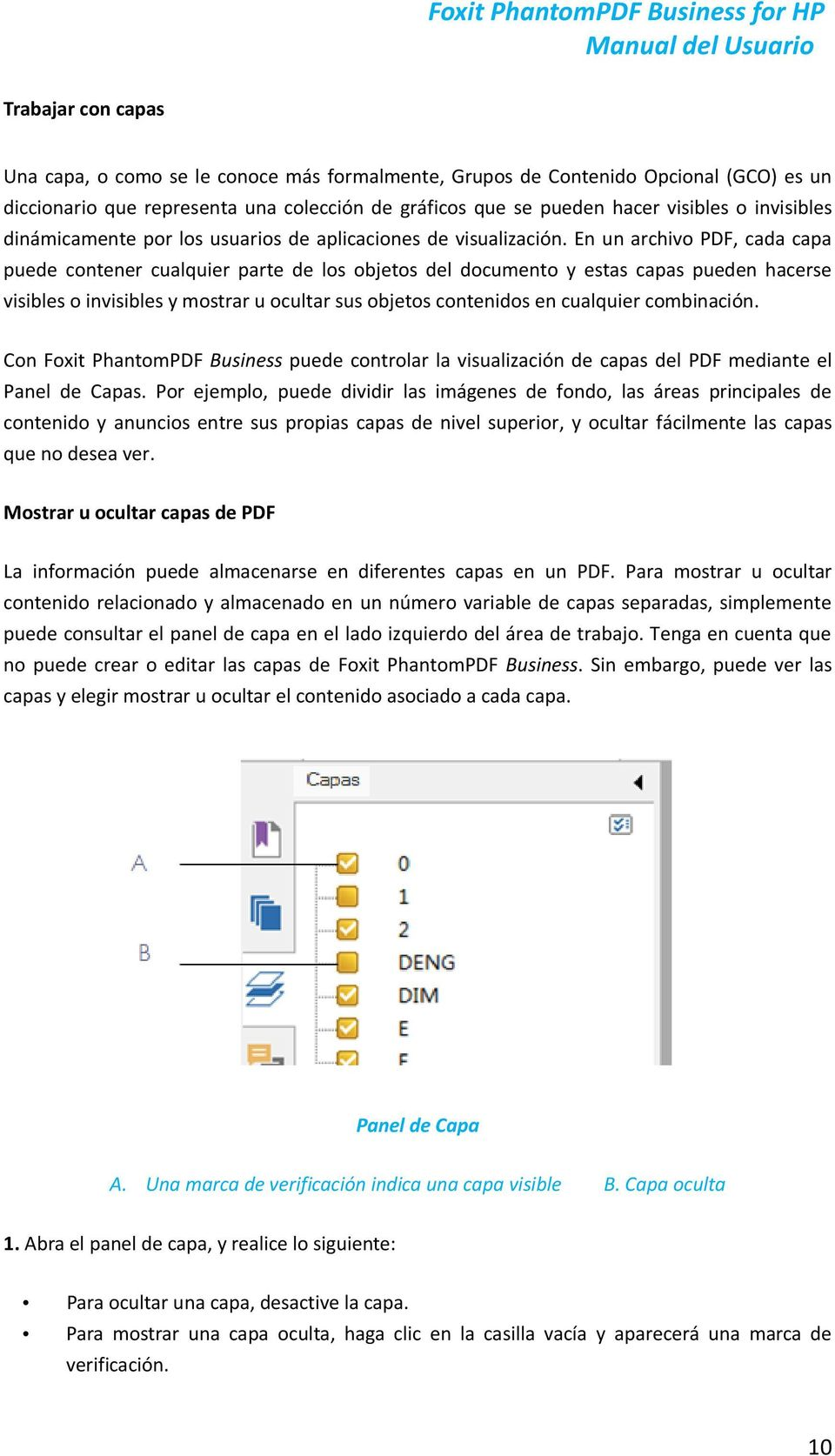 Foxit PhantomPDF Business for HP Manual del Usuario - PDF