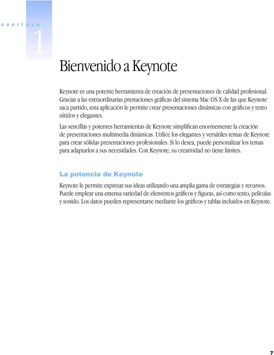 Keynote Manual del usuario - PDF