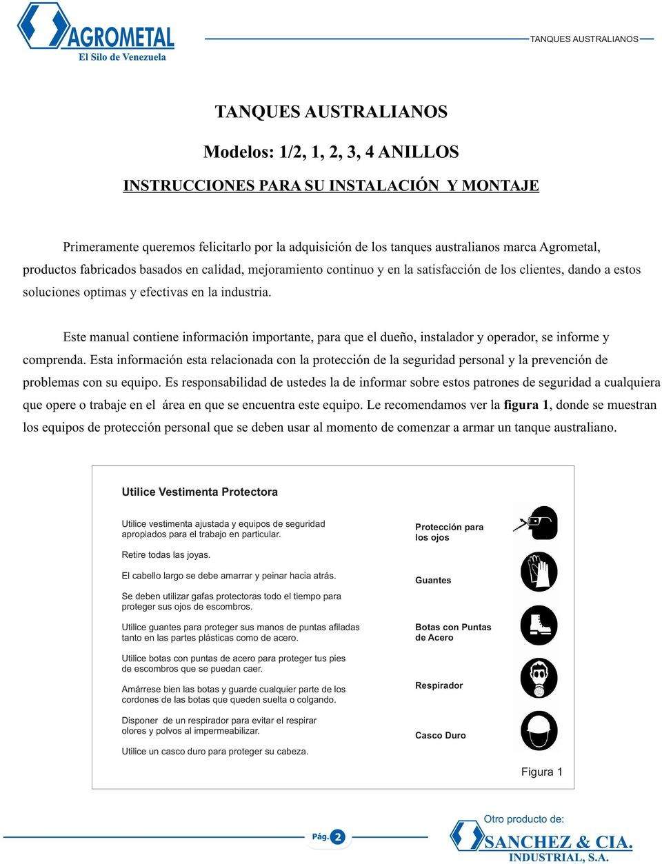MANUAL DE MONTAJE TANQUES AUSTRALIANOS - PDF