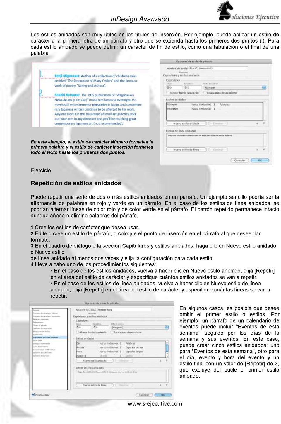 InDesign Avanzado. - PDF