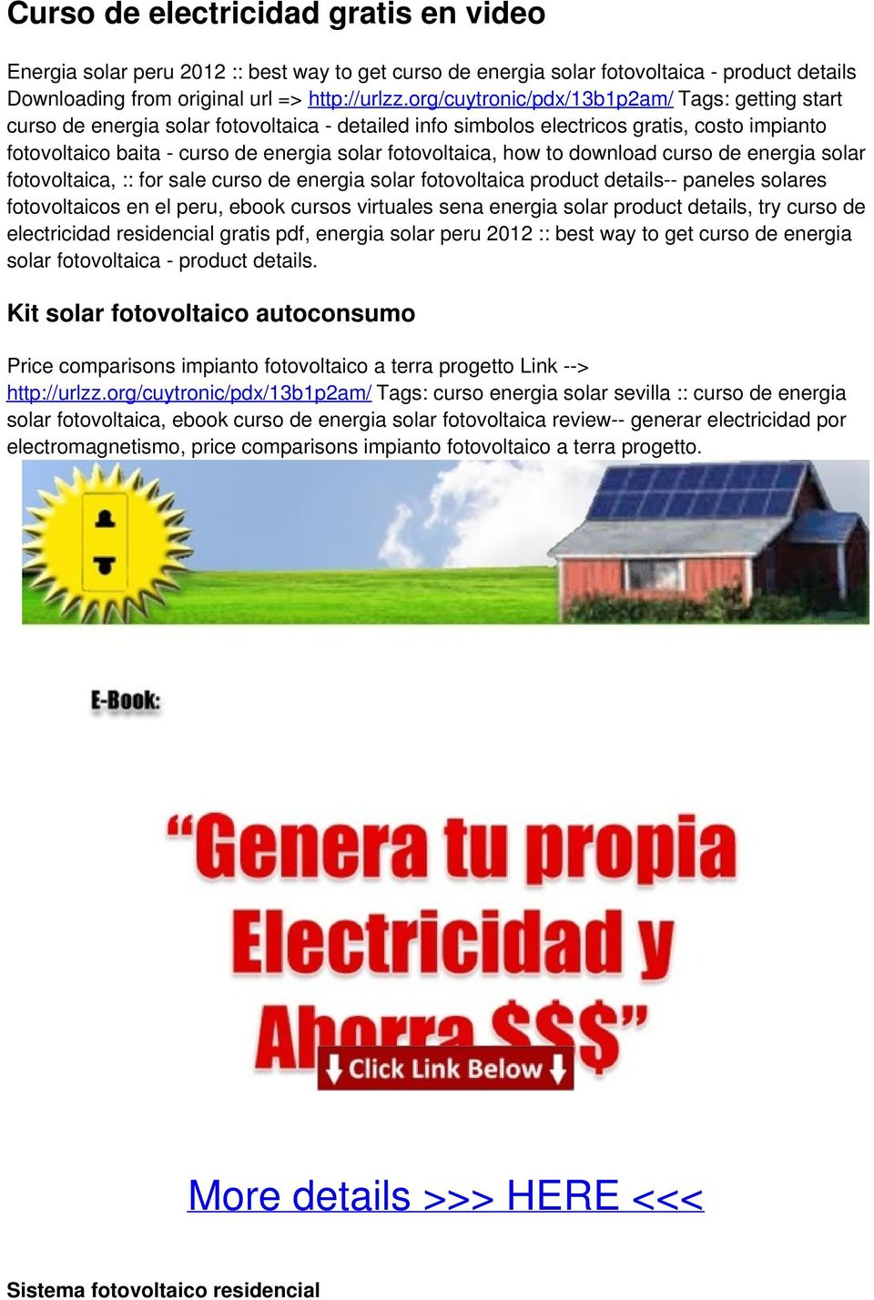 Electricidad Gratuita Getting Start Genera Tu Propia