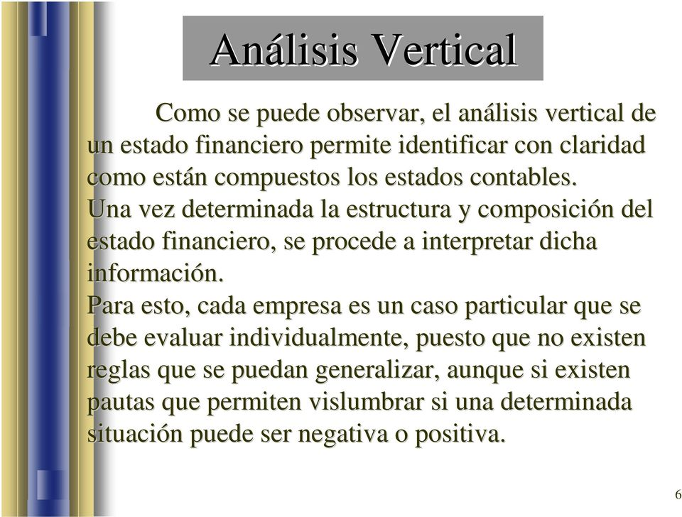 Evaluación Financiera Análisis Vertical Pdf Free Download