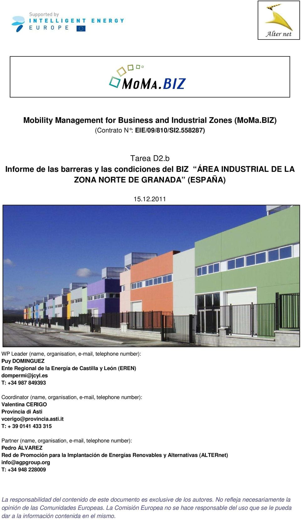 Mobility Management For Business And Industrial Zones Moma Biz Pdf