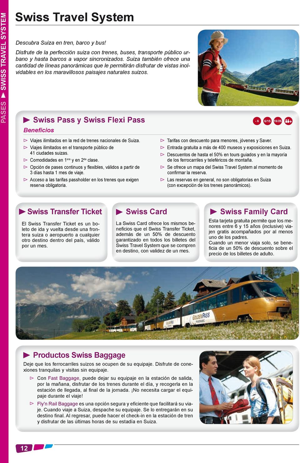 21e1855d0d33 Swiss Pass y Swiss Flexi Pass - 6 6 15 16 26 Beneficios Switzerland