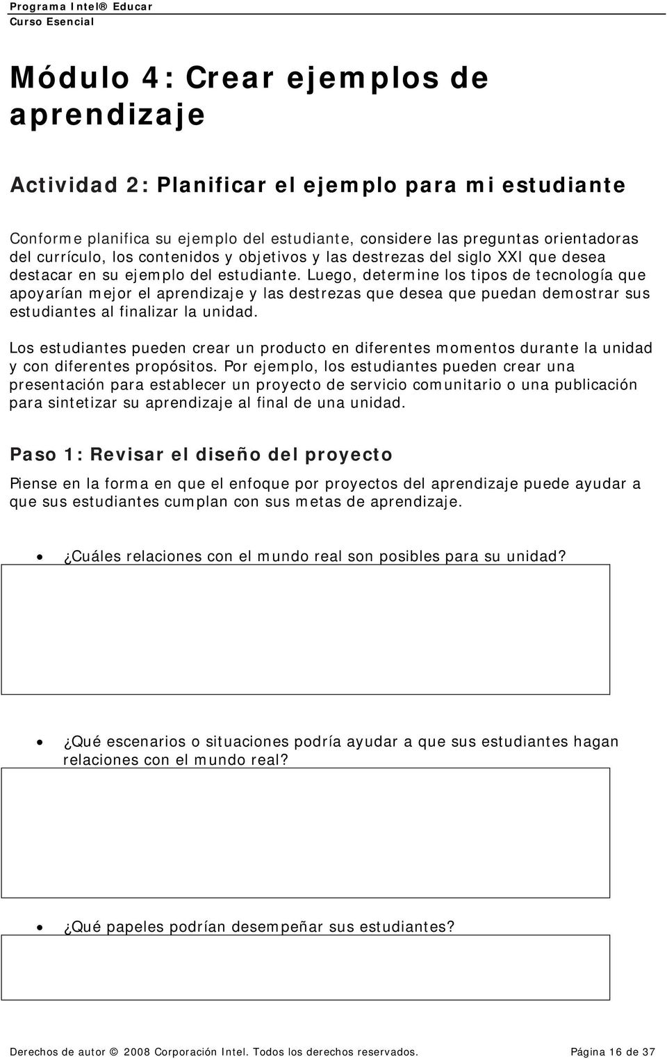 Curso Esencial De Intel Educar Pdf Free Download