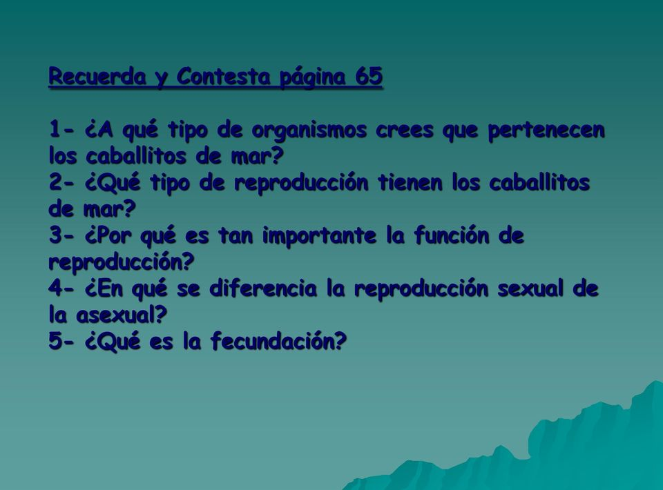 Caballo de mar reproduccion asexual artificial