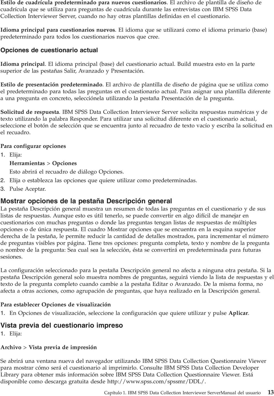 Guía del usuario de IBM SPSS Data Collection Interviewer Server PDF
