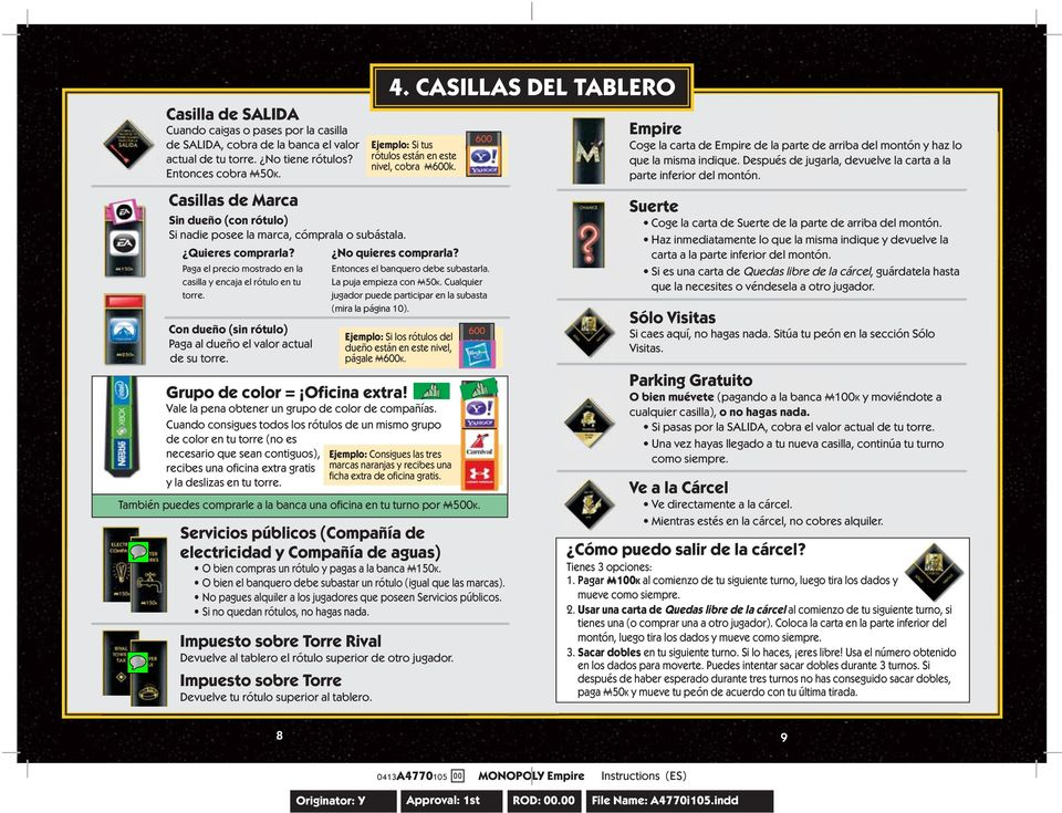 Pdf The Game Of Life Fame Edition Instructions Form
