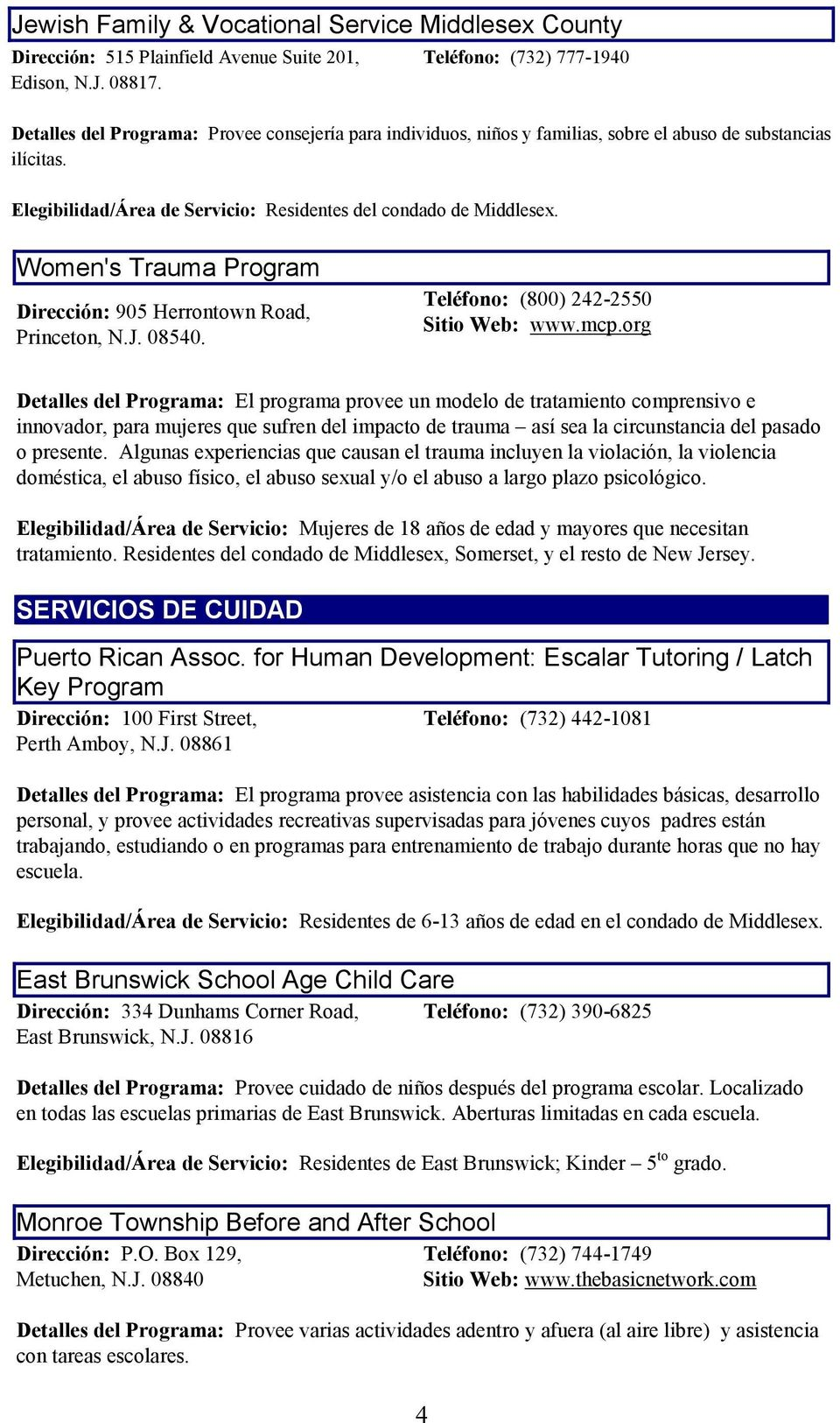 Catholic Charities Family Preservation Services-Edison/Fords - PDF