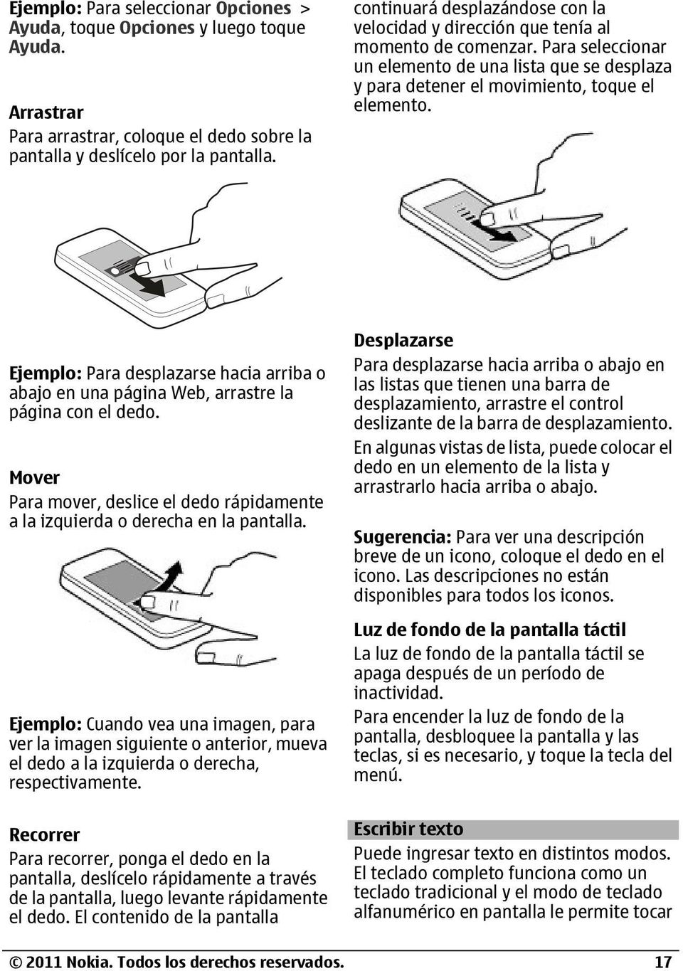 Manual del usuario de Nokia C PDF