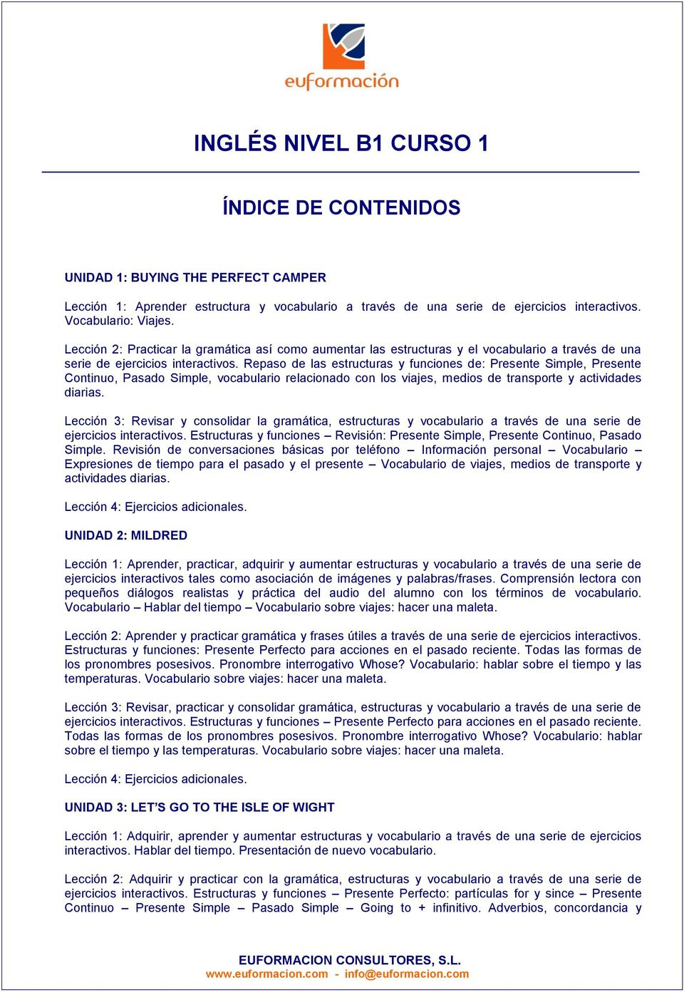 Inglés Nivel A1 Curso 1 Pdf Free Download