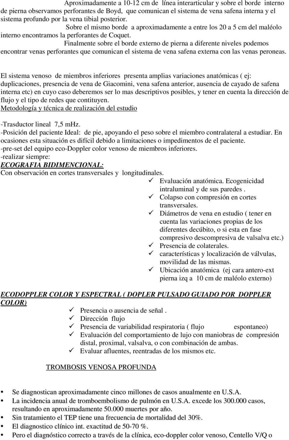 Eco-doppler Color Venoso de Miembros Inferiores - PDF