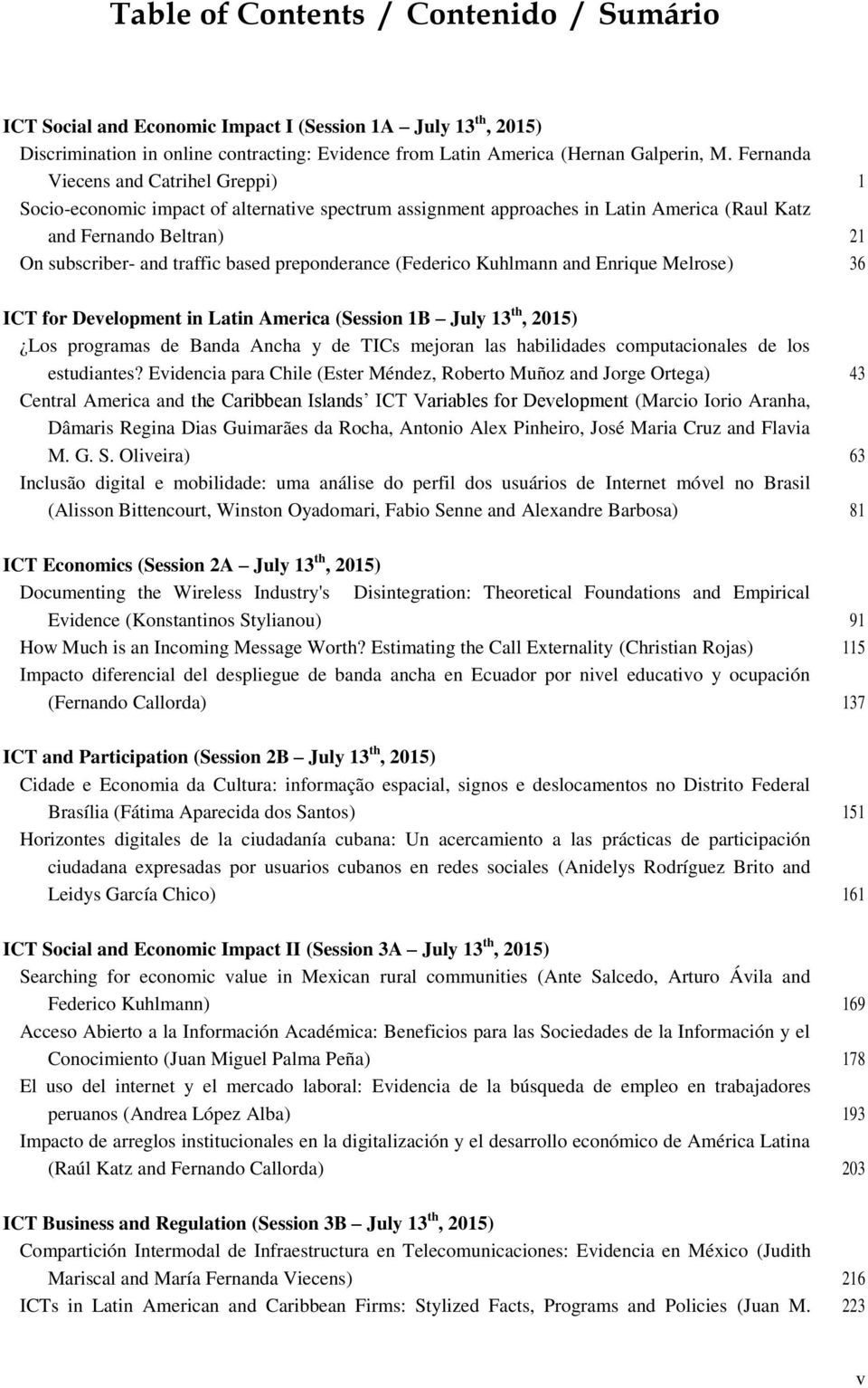 Proceedings of the 9 th CPRLatam Conference - PDF