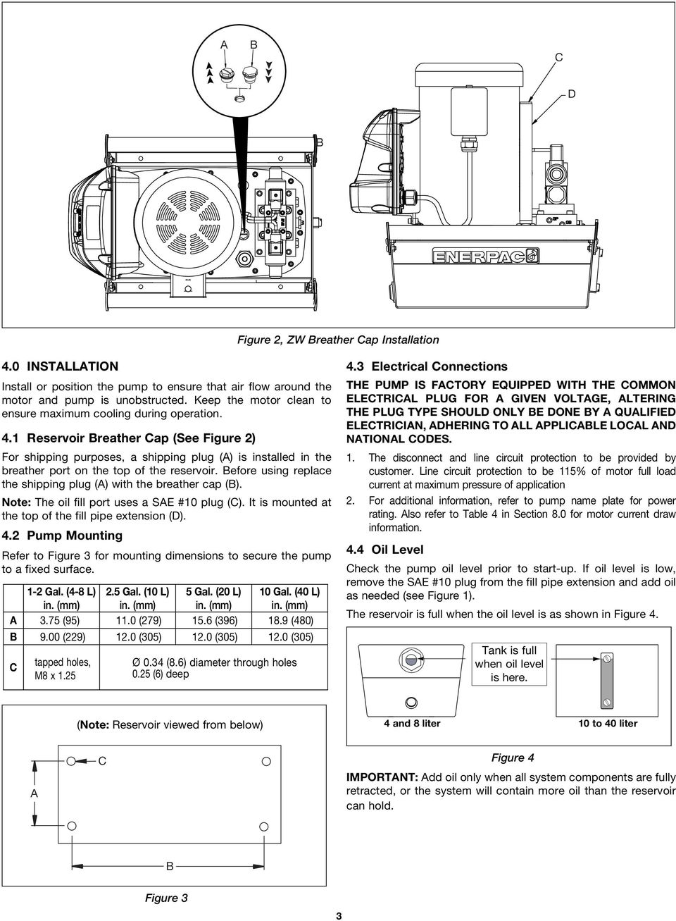 Instruction Sheet  Pallet Coupling Pumps Series ZW3, ZW4 and