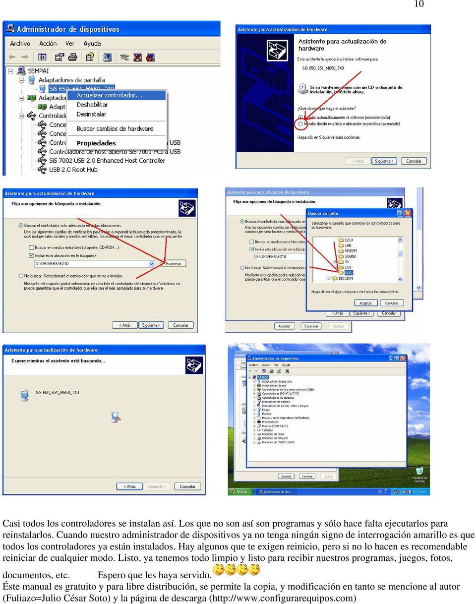 FORMATEAR UN DISCO DURO CON WINDOWS XP - PDF