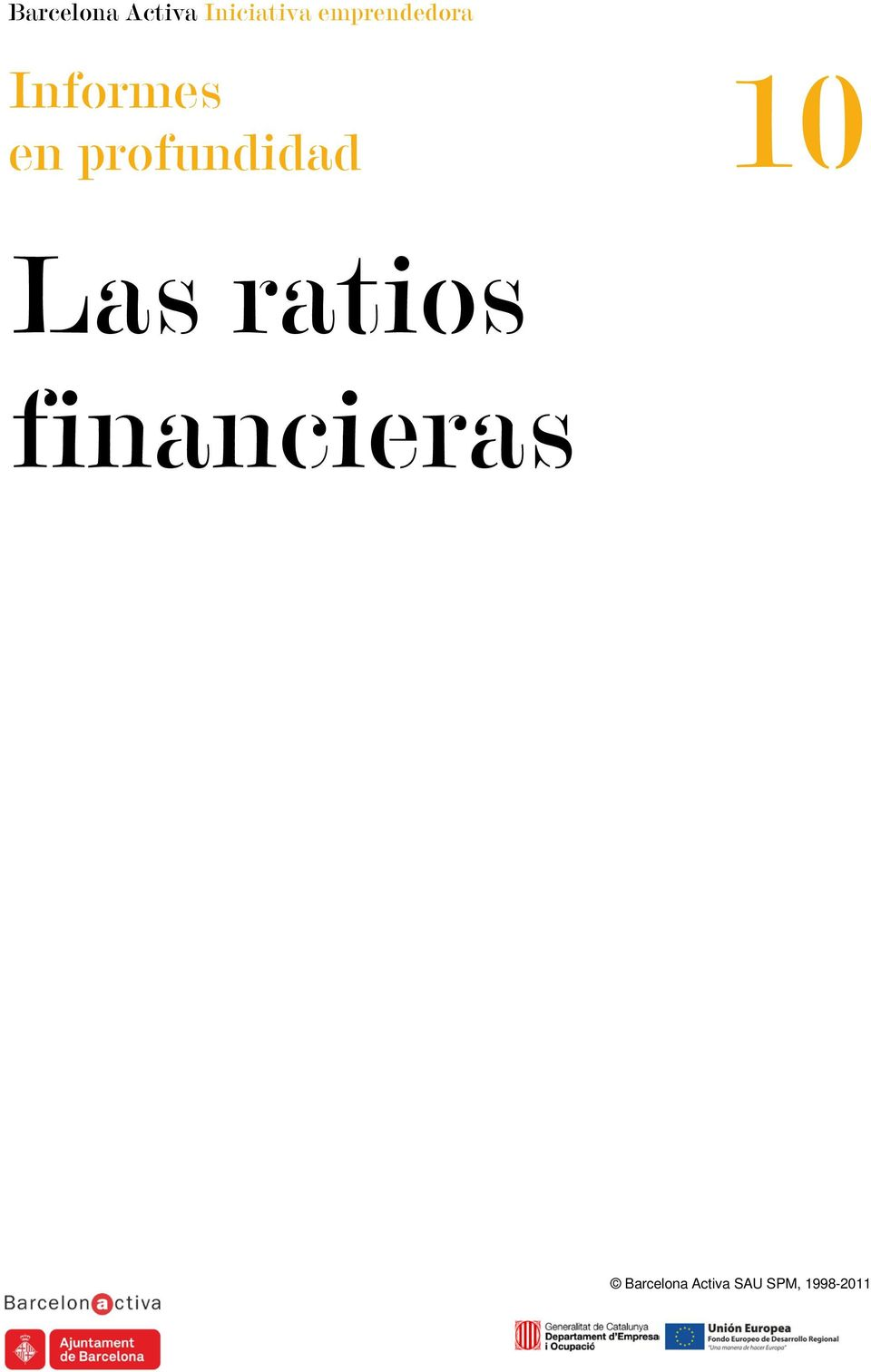 ratios financieras