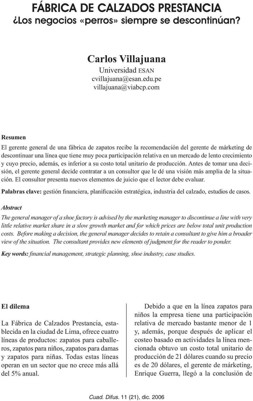Journal of Economics, Finance and Administrative Science ISSN ...