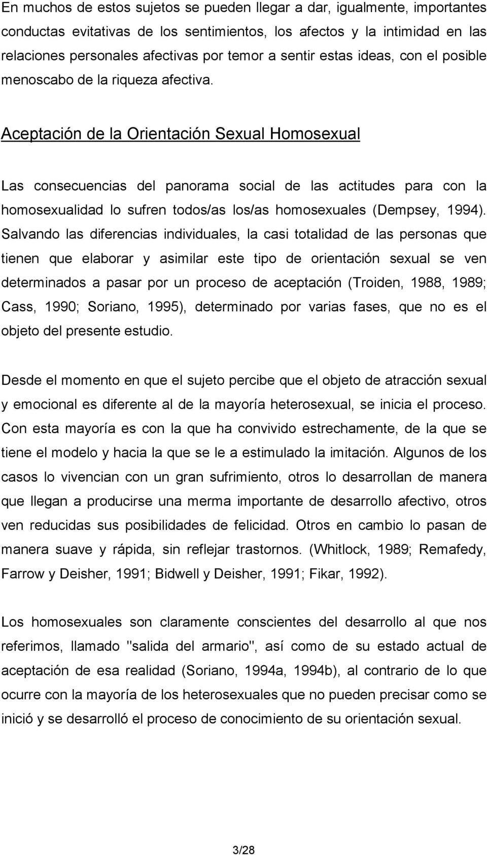 Troiden 1989 the formation of homosexual identities