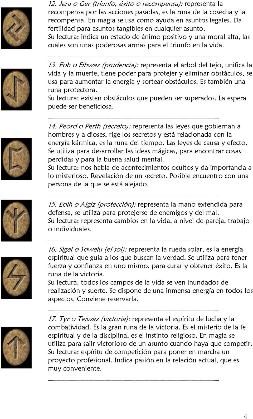 LAS RUNAS Y SU SIGNIFICADO - PDF Free Download