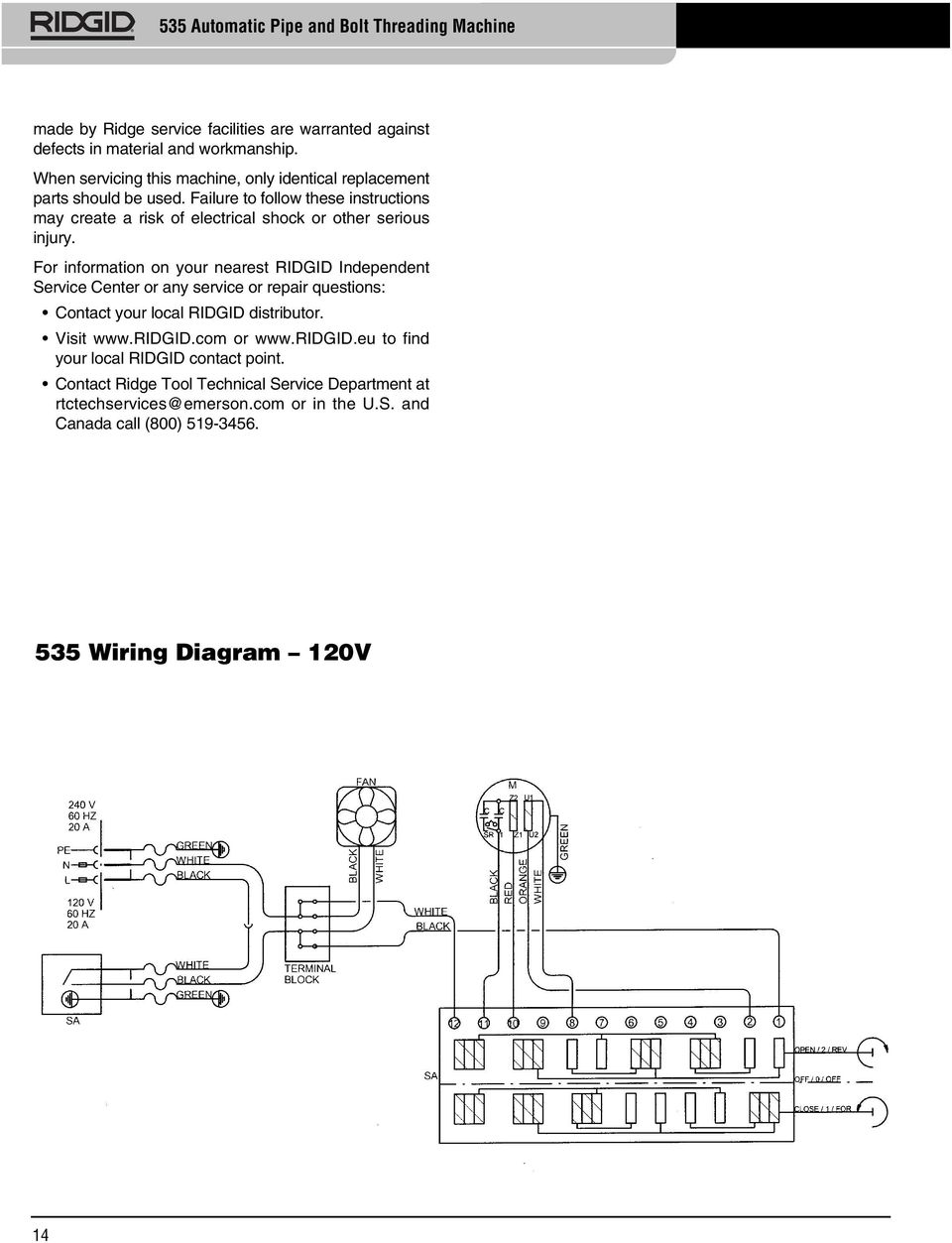 wiring diagram for ridgid threader 535 a automatic pipe and bolt threading machine pdf free download  pipe and bolt threading machine