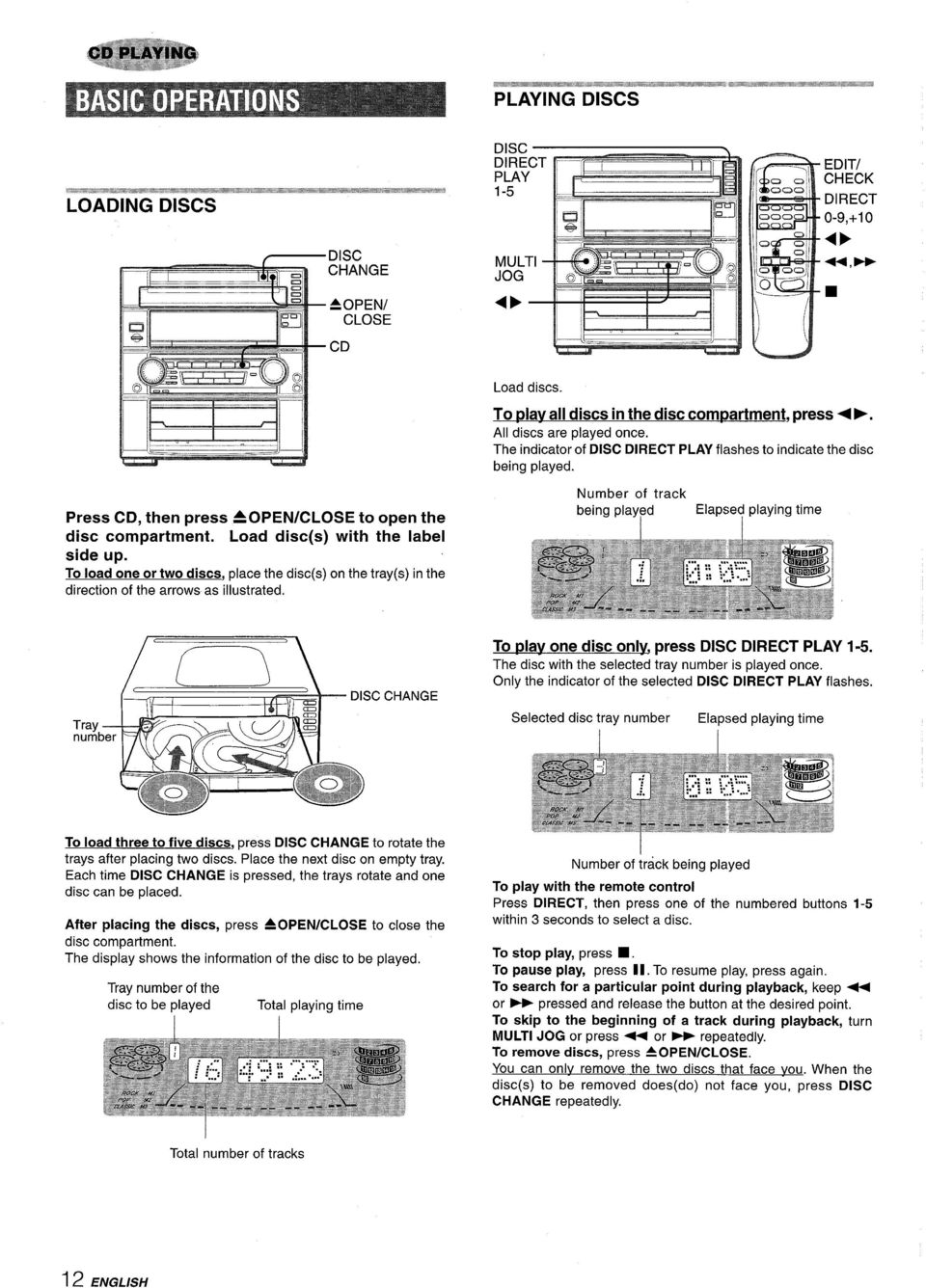 For Assistance And Information Call Toll Free I 800 Buy Aiwa Schematic Diagrams Circuits 600 Watt Hifi Power Amplifiers Pa600 To Load One Or Two Discs Place The On Tray