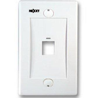 100x  Nexxt AW160NXT02 Keystone Wall face Plate 2//Two//Dual  Jack//Port{WHITE//WH
